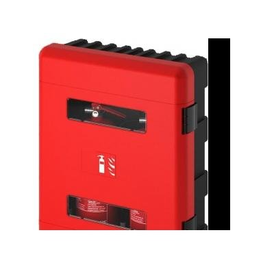 Cervinka 0189 PLASTIC DOUBLE BOX FOR FIRE EXTINGUISHER