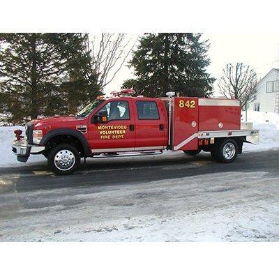CET Fire Pumps Brush Truck 15 CET Quick Attack Unit