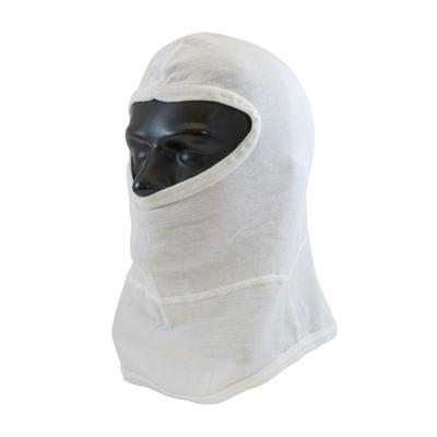 Protective Industrial Products 202-110 Single-Layer Nomex® Balaclava with Bib - Full Face