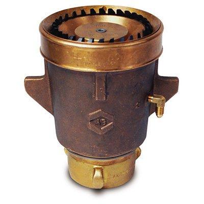 Akron Brass 2156 Black Widow Hydraulic Master Stream Nozzle - Brass