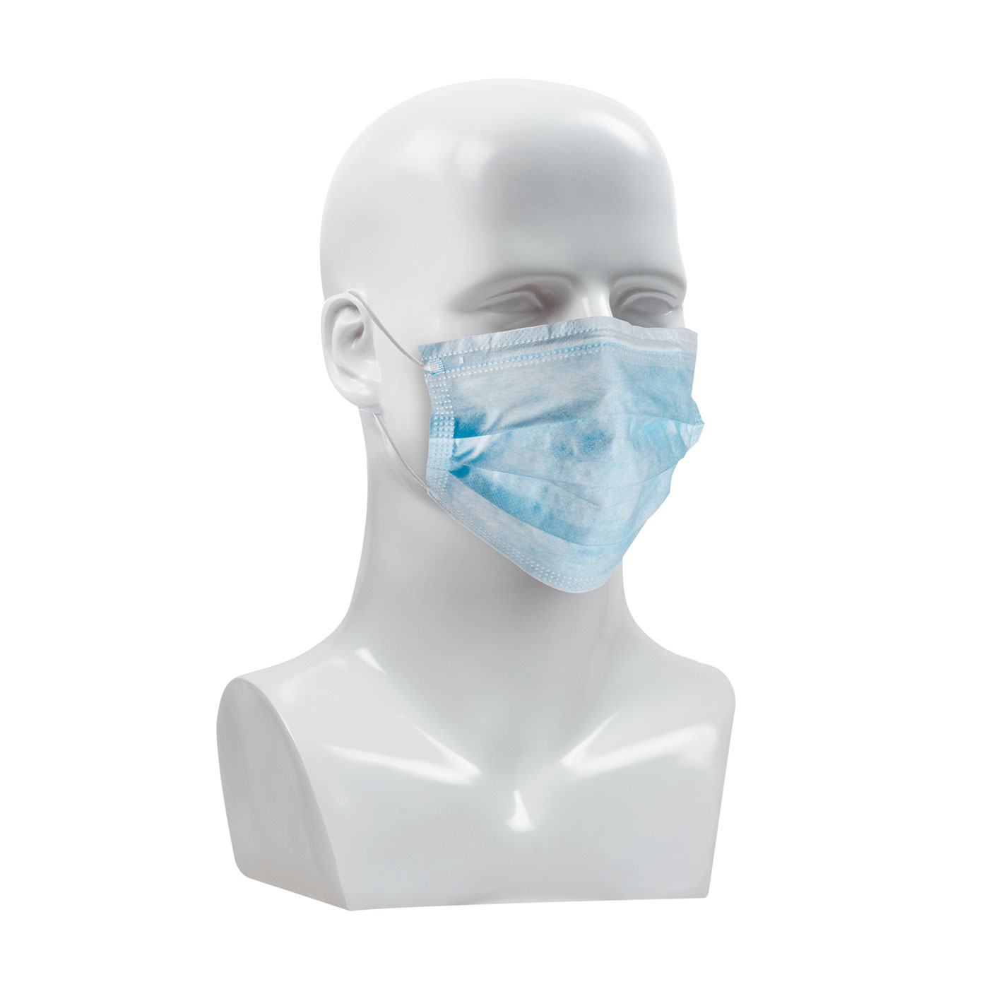 Protective Industrial Products 270-4000 Disposable Face Mask - 50 Pack
