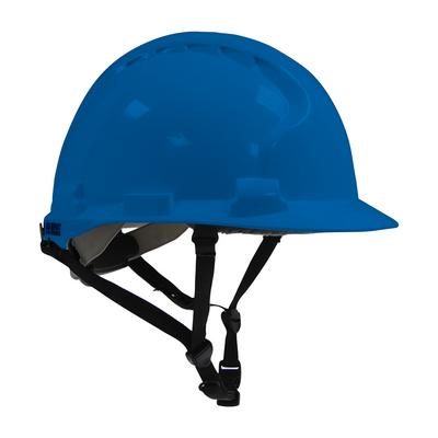 Protective Industrial Products 280-AHS240 Type II Linesman Hard Hat with HDPE Shell, EPS Impact Liner, Polyester Suspension, Wheel Ratchet Adjustment and 4-Point Chin Strap