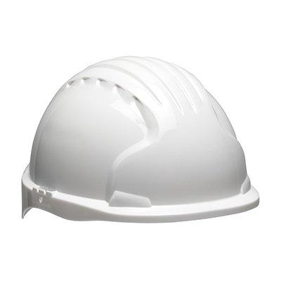 Protective Industrial Products 280-EV6151S Evolution® Deluxe 6151 Short Brim Hard Hat with HDPE Shell, 6-Point Polyester Suspension and Wheel Ratchet Adjustment