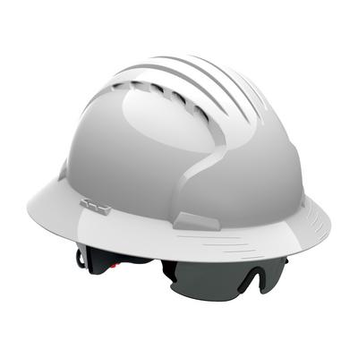 Protective Industrial Products 250-EVS-0001 Safety Eyewear for JSP® Evolution® Deluxe Hard Hats - Gray Lens