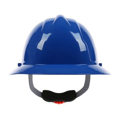 Protective Industrial Products 280-FBW4200 Full Brim Hard Hat with HDPE Shell, 4-Point Polyester Suspension and Wheel Ratchet Adjustment