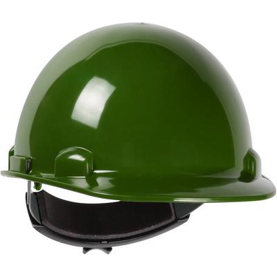 Protective Industrial Products 280-HP341R Cap Style Smooth Dome Hard Hat with HDPE Shell, 4-Point Textile Suspension and Wheel-Ratchet Adjustment
