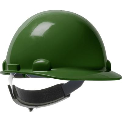 Protective Industrial Products 280-HP341SR Cap Style Smooth Dome Hard Hat with HDPE Shell, 4-Point Textile Suspension and Swing Wheel-Ratchet Adjustment