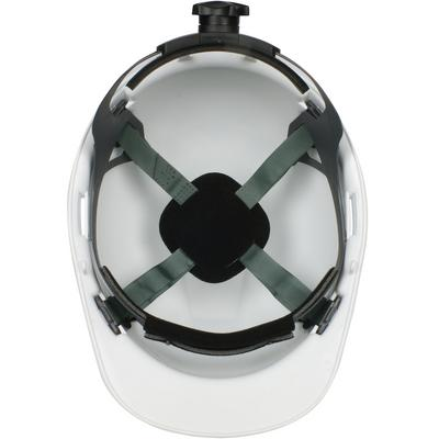 Protective Industrial Products 280-HP741R Cap Style Hard Hat with HDPE Shell, 4-Point Textile Suspension and Wheel Ratchet Adjustment