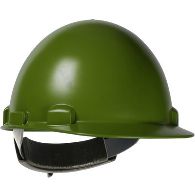 Protective Industrial Products 280-HP841R Cap Style Smooth Dome Hard Hat with ABS/Polycarbonate Shell, 4-Point Textile Suspension and Wheel-Ratchet Adjustment