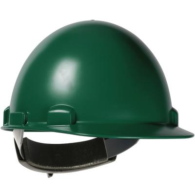 Protective Industrial Products 280-HP841SR Cap Style Smooth Dome Hard Hat with ABS/Polycarbonate Shell, 4-Point Textile Suspension and Swing Wheel-Ratchet Adjustment