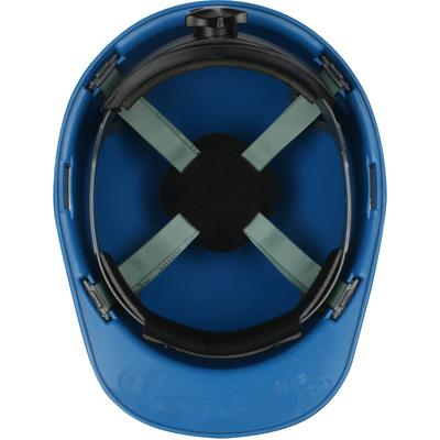 Protective Industrial Products 280-HP851R Cap Style Smooth Dome Hard Hat with Nylon/Fiber Resin Shell, 4-Point Textile Suspension and Swing Wheel-Ratchet Adjustment