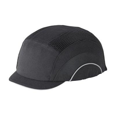 Protective Industrial Products 282-ABM130 Baseball Style Bump Cap with HDPE Protective Liner and Adjustable Back - Micro Brim