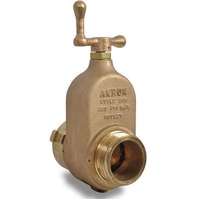 "Akron Brass 285 2 1/2"" Gate Valve"