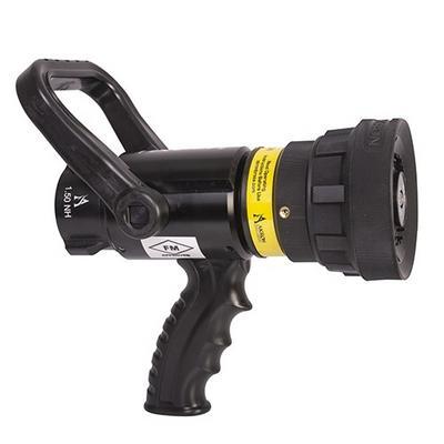 "Akron Brass 48634008 Mid-Range Assault Handline Nozzle with 1.5"" inlet, NH thread, 150 GPM @75 PSI"