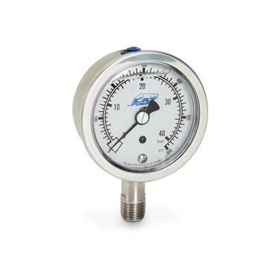 Cat pumps 6069 SS Pressure Gauge