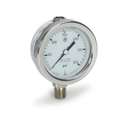 Cat pumps 6076 SS Pressure Gauge