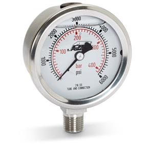Cat pumps 6087 SS Pressure Gauge