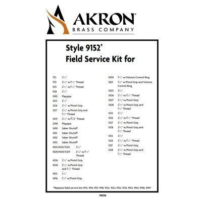 Akron Brass 9152 Field Service Kit for Style 2390, 2125, 2430