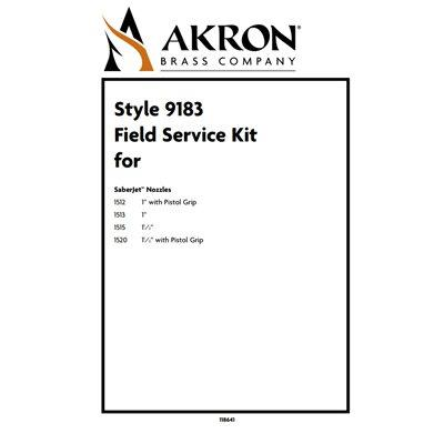 Akron Brass 9183 Field Service Kit for Style 1512, 1513, 1515, 1520