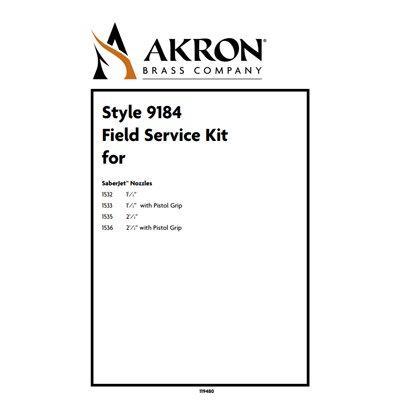 Akron Brass 9184 Field Service Kit for Style 1532, 1533, 1535, 1536