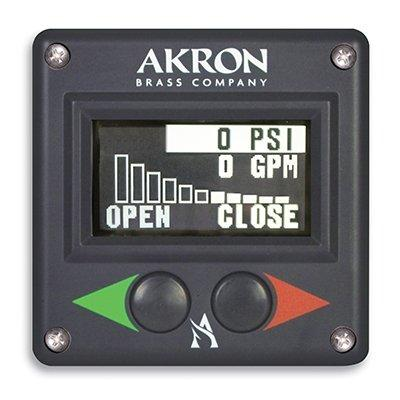 Akron Brass 9315 Navigator Valve Controller with Pressure Meter and Flow Meter