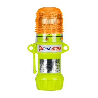 """Protective Industrial Products 939-AT280-A 6"""" Safety & Emergency Beacon - Flashing / Steady-On Amber"""
