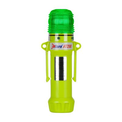 """Protective Industrial Products 939-AT290-G 8"""" Safety & Emergency Beacon - Flashing / Steady-On Green"""