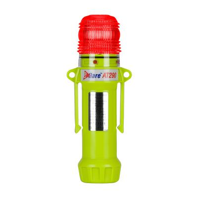"""Protective Industrial Products 939-AT290-R 8"""" Safety & Emergency Beacon - Flashing / Steady-On Red"""