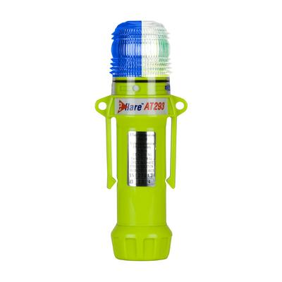 """Protective Industrial Products 939-AT293-B/W 8"""" Safety & Emergency Beacon - Alternating Blue/White"""