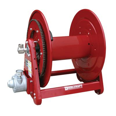 Reelcraft AA32122 L6A 1/2 in. x 400 ft. Premium Duty Air Motor Driven Hose Reel