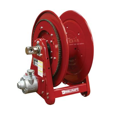 Reelcraft AA32106 L6A 1/2 in. x 100 ft. Premium Duty Air Motor Driven Hose Reel