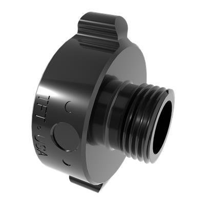 """Task force tips AA5ID-GHT ADAPTER 1.0""""NPSHF X .75""""GHTM"""