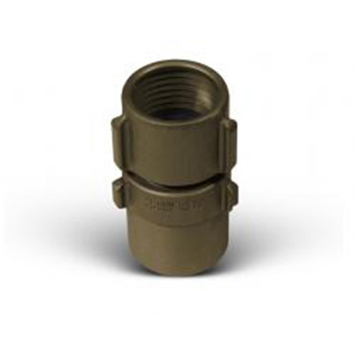 Action Coupling and Equipment A-40 extruded fire hose coupling