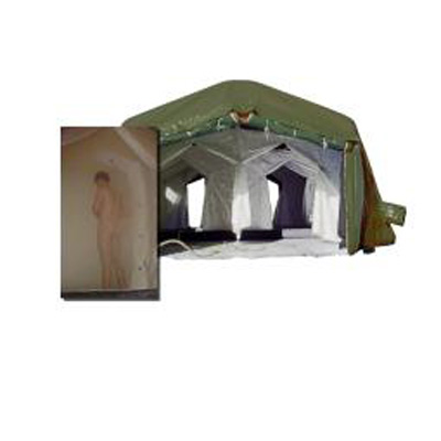 Airshelter-ACD Shelter Techniek BV Integrated Shower System