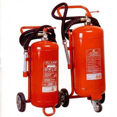 Alarm Yangin AAT150 ABC powder mobile extinguisher