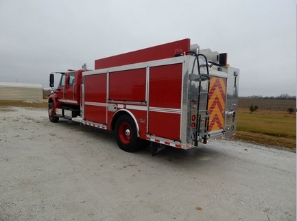 Alexis Fire Equipment Buffalo 2230 custom side control pumper