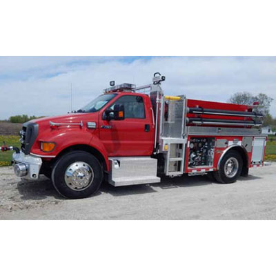 Alexis Fire Equipment Otto Twp 2250 field pumper