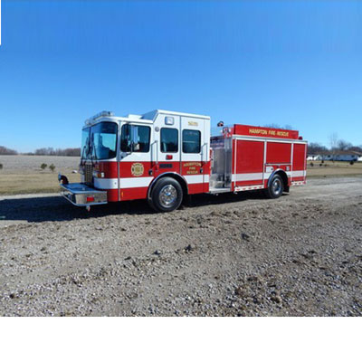 Alexis Fire Equipment Schuyler County 2256 equailiser pumper