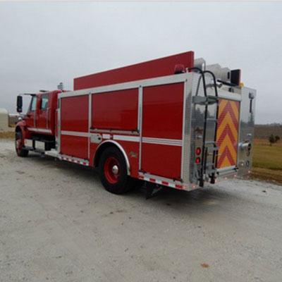 Alexis Fire Equipment Waterman 2237 equalizer top control pumper