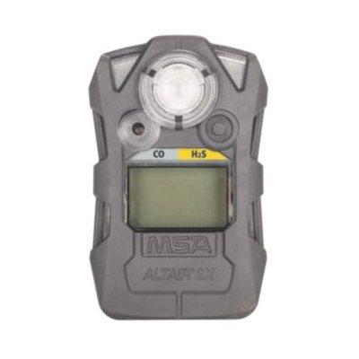 MSA 10154072 Detector, ALTAIR 2XT, CO/H2S-LC, Gray