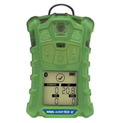 MSA 10178558 - (LEL, O2, H2S & CO), Glow-In-The-Dark Case, North American Charger