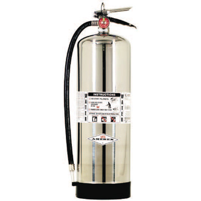 Amerex 240 with Polished Stainless Steel Cylinders