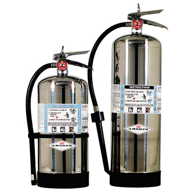 Amerex 252 FFFP FOAM Polished Stainless Steel Cylinders