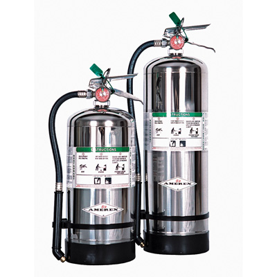 Amerex B262 Polished Stainless Steel Cylinders