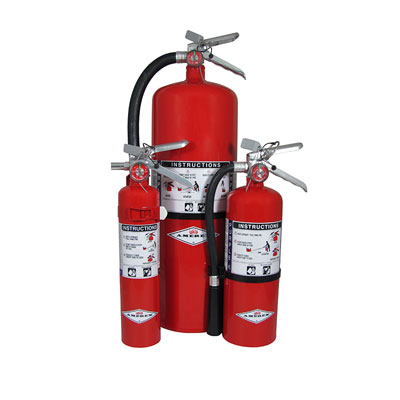 Amerex B479/B479T aluminum valve Purple K stored pressure dry chemical extinguisher