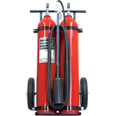 Ansul CD-50-D-1 carbon dioxide wheeled fire extinguisher