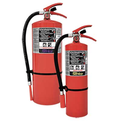 Ansul HF-AA10S SENTRY high-flow dry chemical fire extinguisher