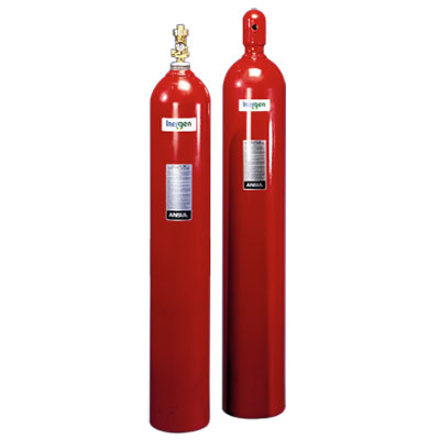 Ansul INERGEN 200-BAR fire suppression system