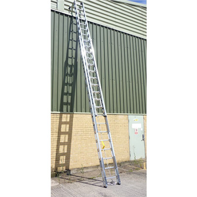 AS Fire & Safety A S Double extension riveted truss construction ladder