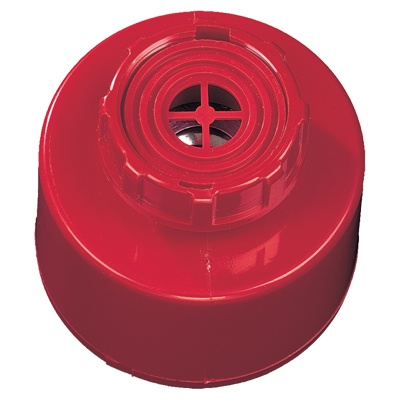 UTC Fire & Security AS262N Panel Mount Sounder, Red, With Tone Select Switch & Volume Control